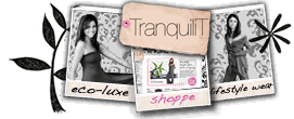TranquiliT eco-luxe lifestyle wear