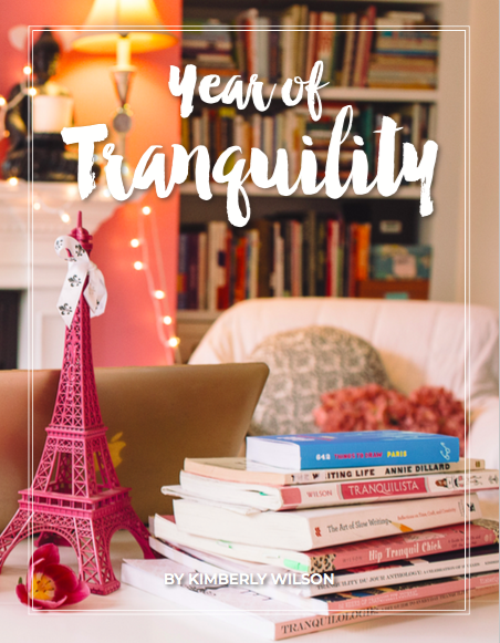 Year of Tranquility cover