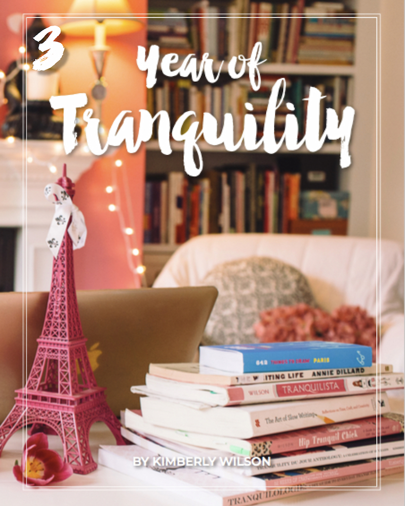Year of Tranquility 2019 cover