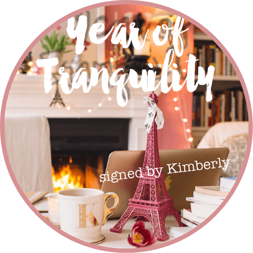 Year of Tranquility, signed by Kimberly
